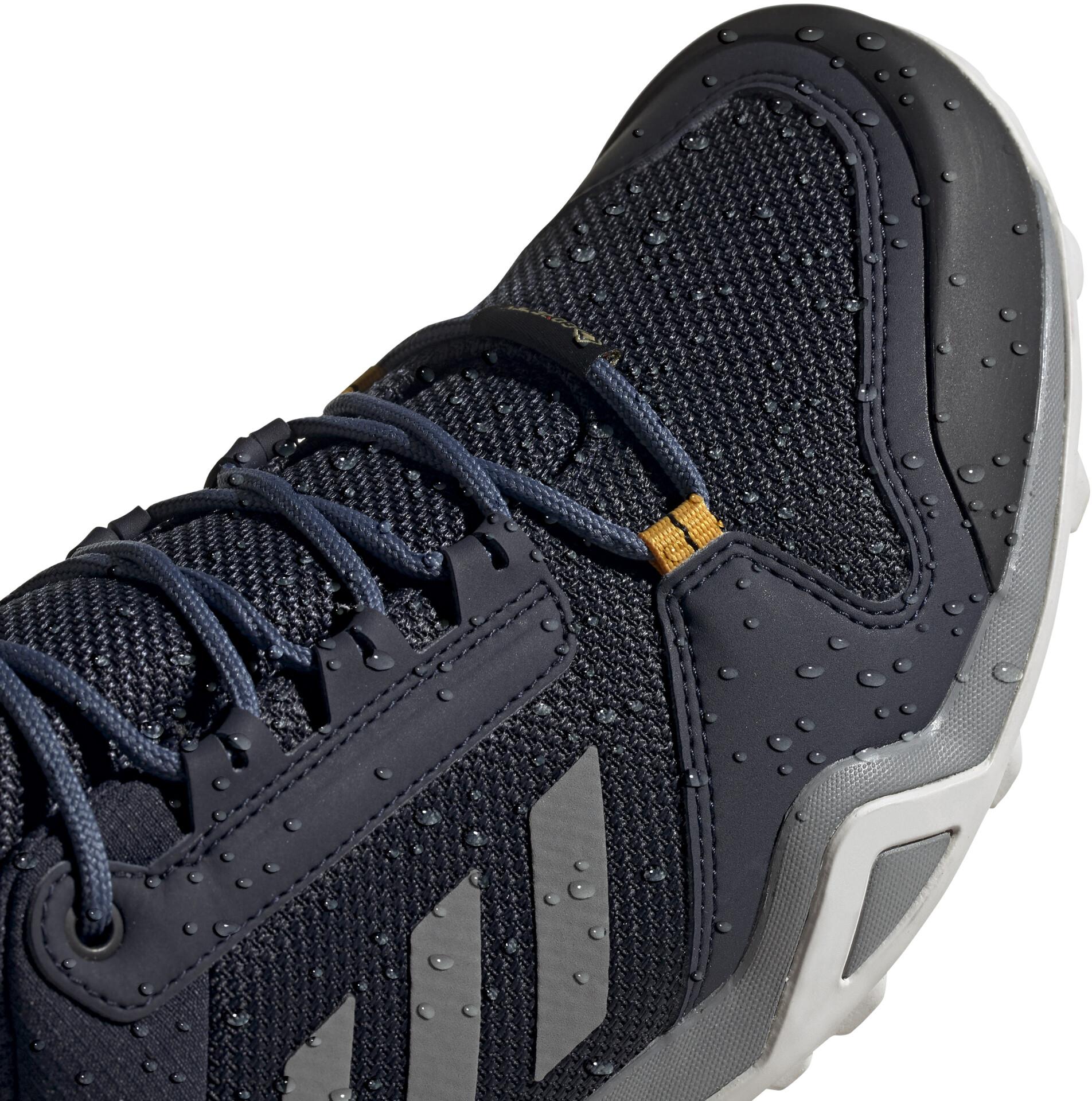 adidas TERREX AX3 Gore Tex Zapatillas Senderismo Resistente al Agua Hombre, legend inkgrey threeactive gold